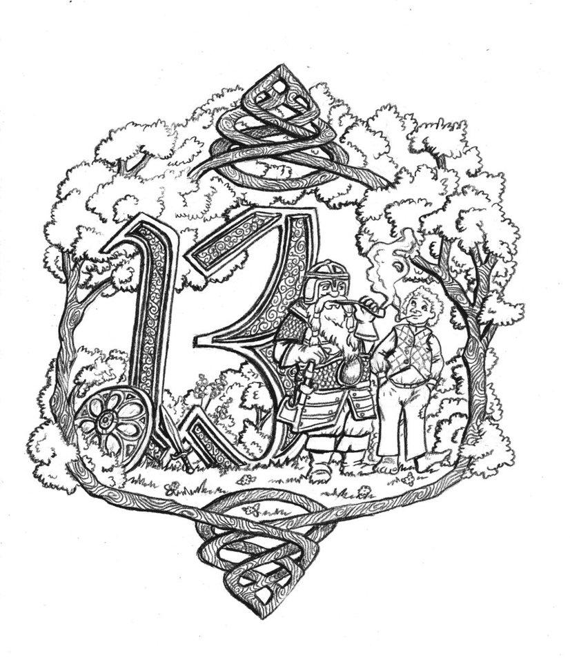 Drawn dwarf hobbit And on Hobbit DeviantArt Phantagrafie