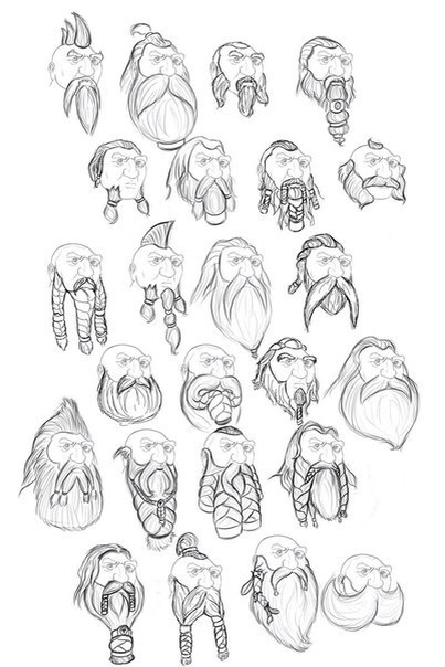 Drawn dwarf sketch More http://www Dwarf com/competing Find