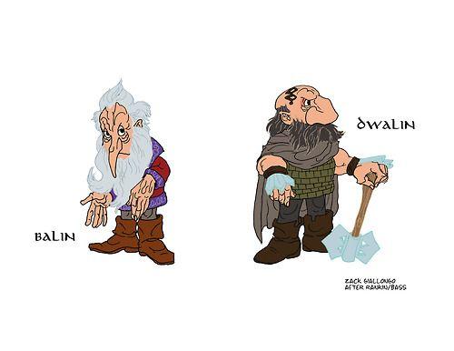 Drawn dwarf the hobbit character HOBBIT on 29 Pin Pinterest