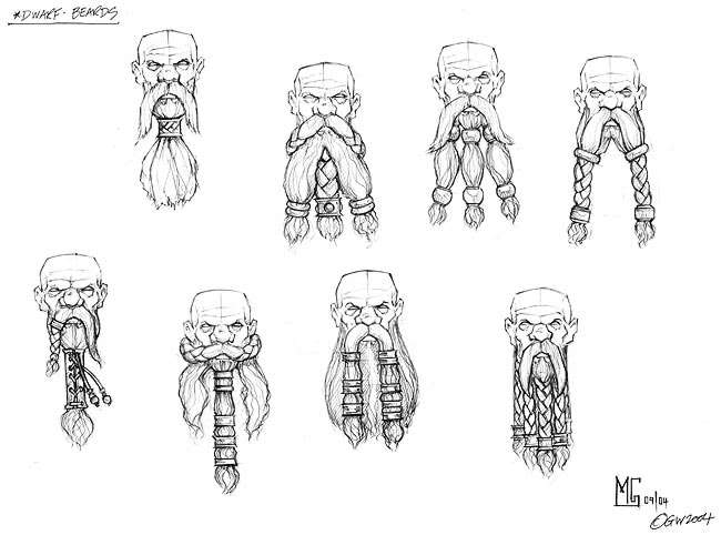 Drawn dwarf the hobbit character Pinterest Design photo by and