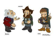 Drawn dwarf the hobbit character Hobbit HOBBIT my and CHARACTERS