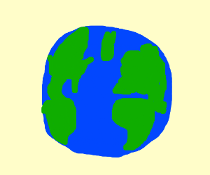 Drawn earth Earth Swat Hero) earth by