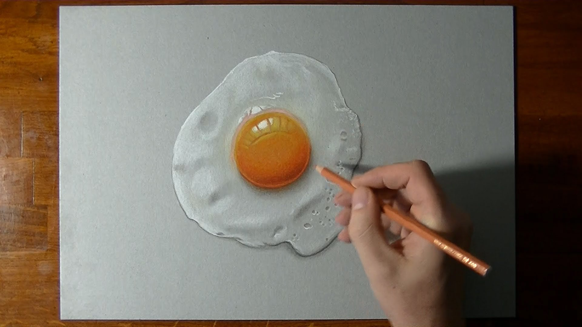 Drawn egg Fried perfectly :) draw YouTube