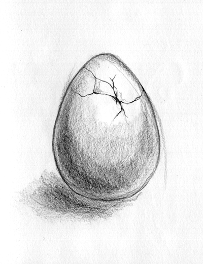 Drawn egg Draw link CHRISTENSEN: egg? January