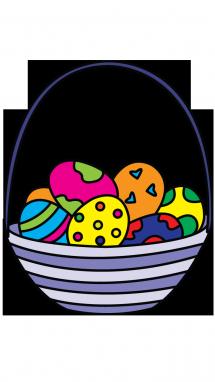 Drawn basket Draw Step Basket Step Egg