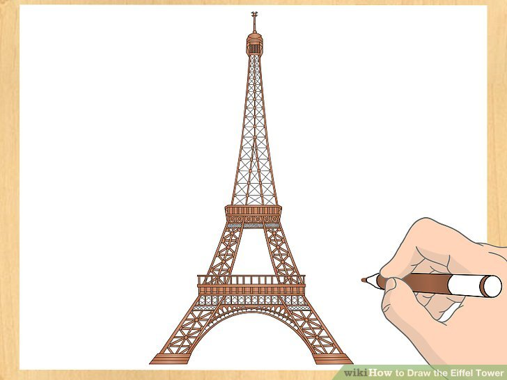 Drawn eiffel tower How (with Image 7 Draw