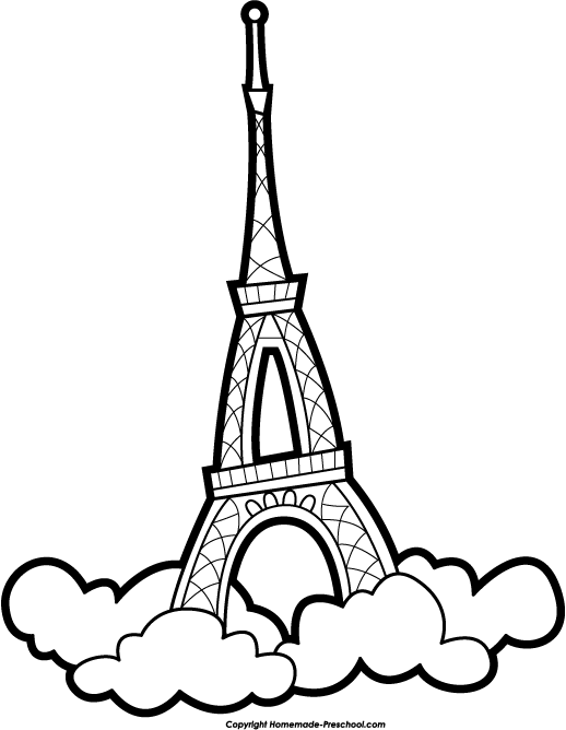 Tower clipart drawing #5