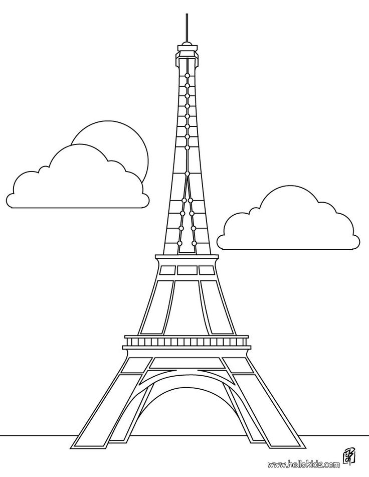 Tower clipart drawing #10