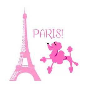 Drawn poodle pink In poodle Paris Pink for