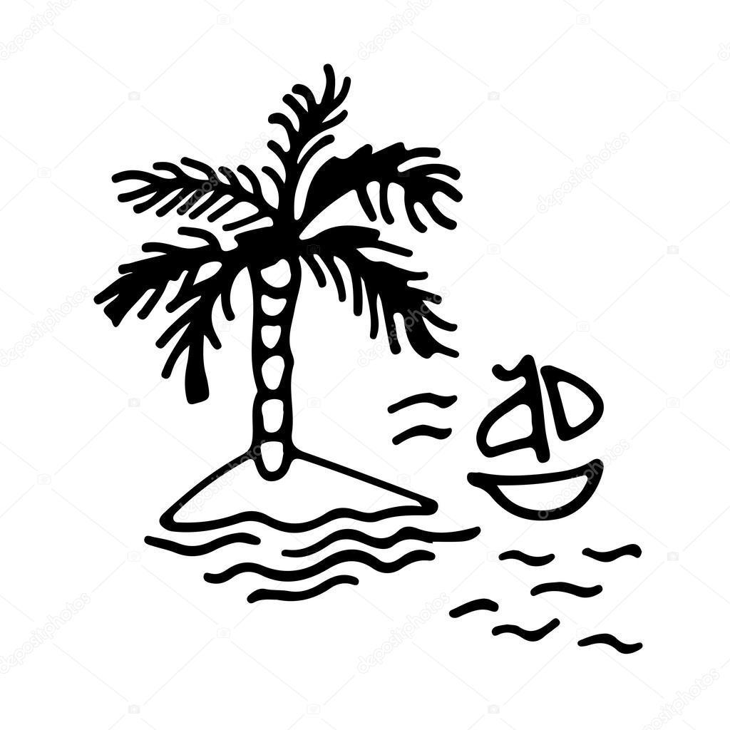 Drawn eiland #8