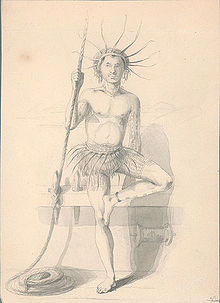 Drawn eiland banaba island Costume United Expedition Tuvaluan States