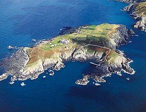 Drawn islet brecqhou Islands Top 10 Island Sark