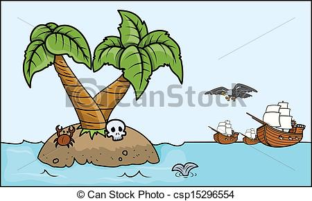 Eiland clipart pirate island Drawing of Island Drawing Pirate