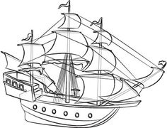 Drawn ship pirat Google ever simple Search think