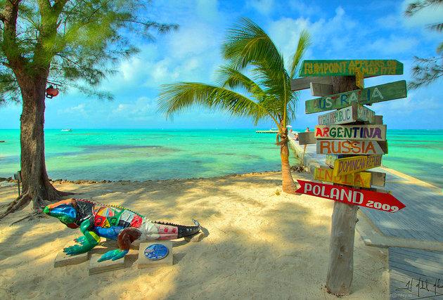 Drawn eiland grand cayman 13 14 Tourist Top Islands