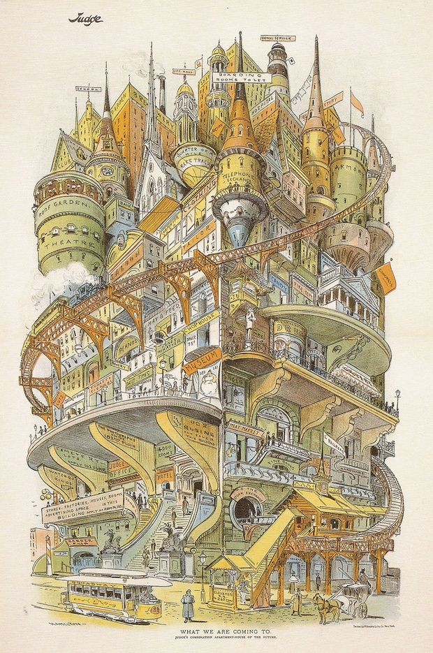 Drawn eiland imaginary Building 'Imaginary CityLab on Best