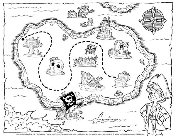 Drawn eiland neverland Images treasure best Pirates pirate