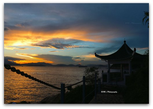 Drawn eiland sunset Fantastic in Island Island Lamma