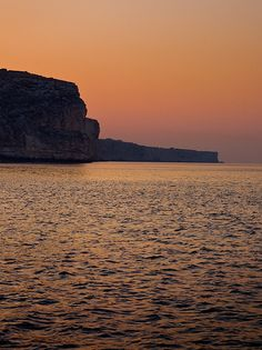 Drawn eiland sunset │ Dingli of the #Malta