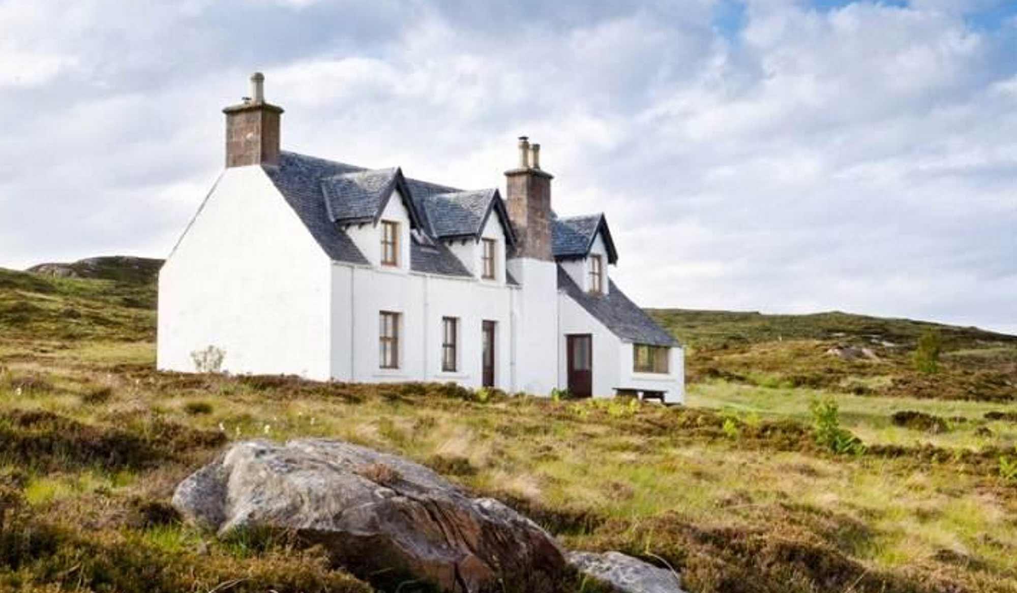 Drawn eiland tanera mor Off Scotland: Remote grid than