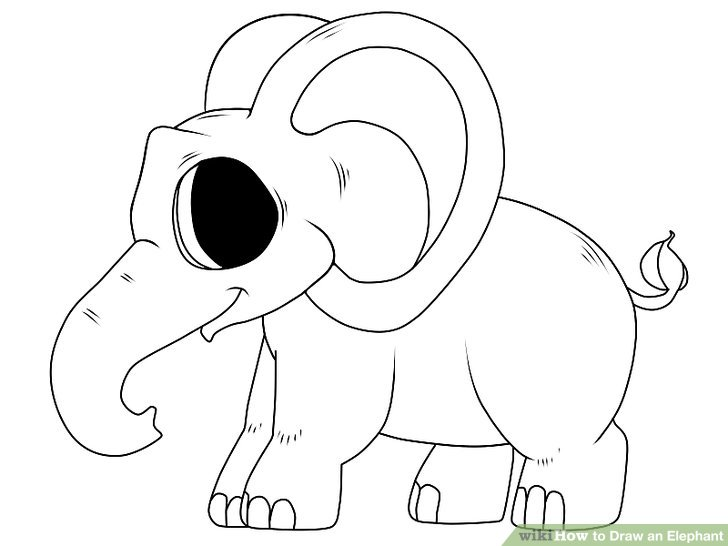 Drawn elephant To 13 Elephant Elephant Ways