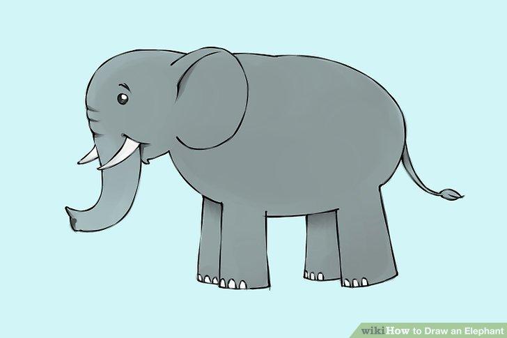 Drawn elephant To 9 Elephant Elephant Ways