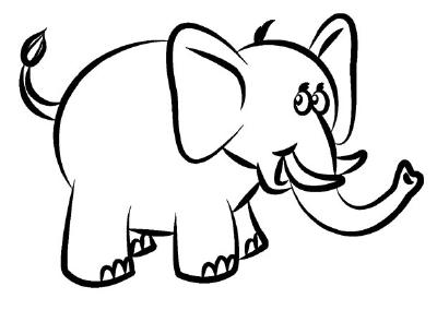 Drawn elephant How Draw Animals How Elephant
