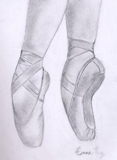 Drawn shoe sketched #7