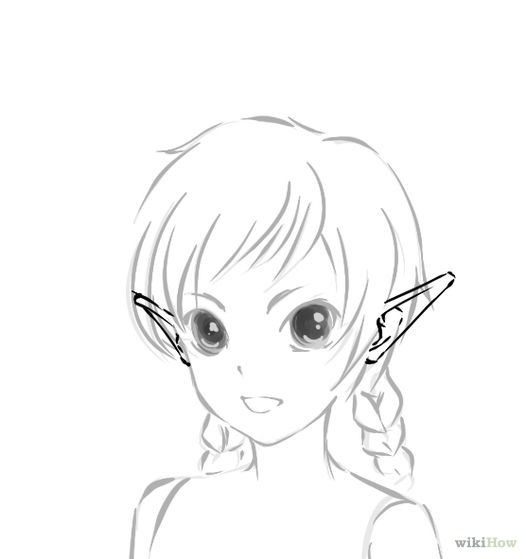 Drawn elf Living How art the Elf
