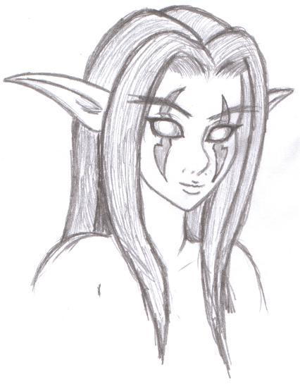 Drawn elf Night Elf AEIFS by Pinterest