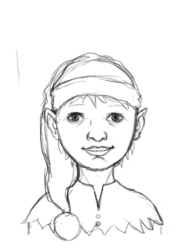Drawn elf Young At Elves have editing