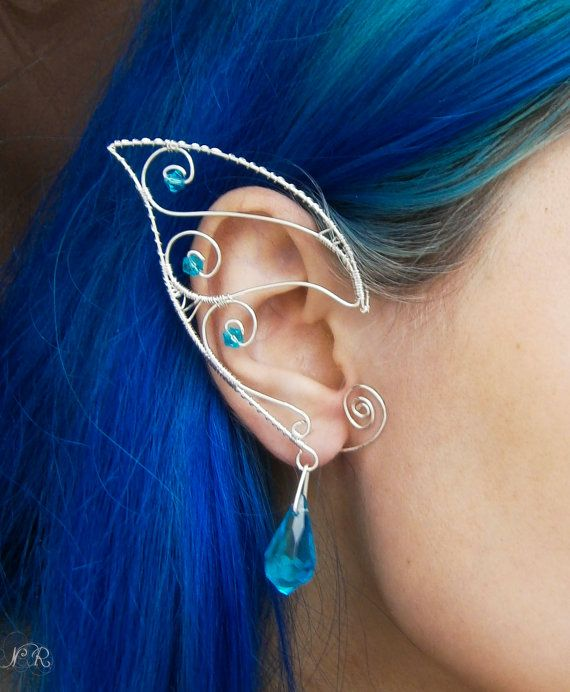 Drawn fairy elf ear Stars