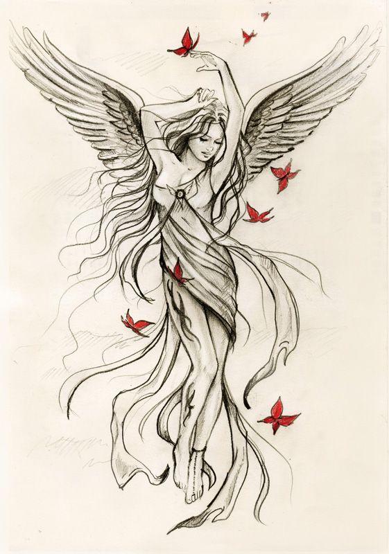Drawn elfen pretty angel #14