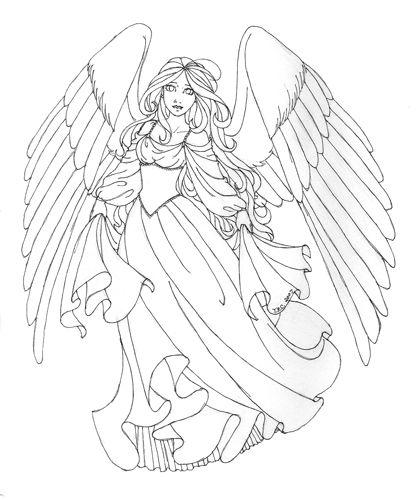 Drawn elfen pretty angel #6