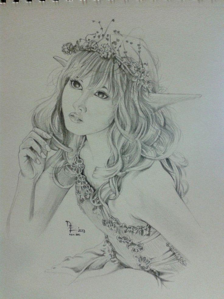 Drawn elfen pretty angel #10