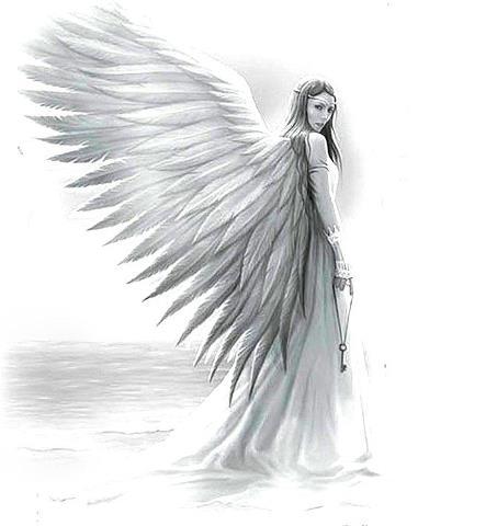 Drawn elfen pretty angel #7
