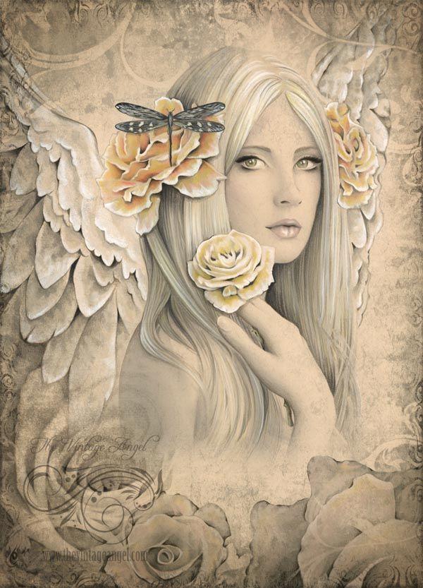 Drawn elfen pretty angel #13