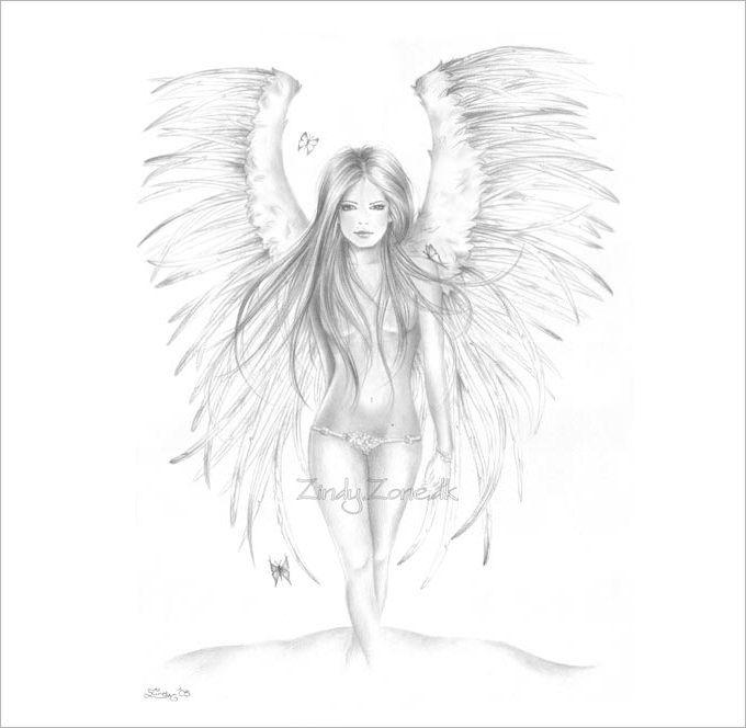 Drawn elfen pretty angel #8