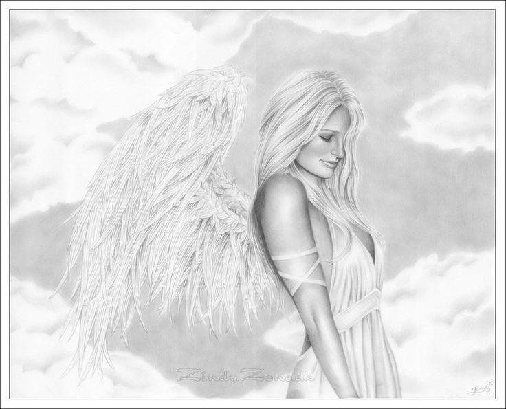 Drawn elfen pretty angel #12
