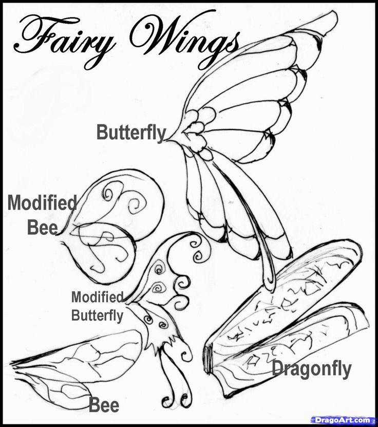 Drawn fairy realistic Step  Fairy drawing Fairy