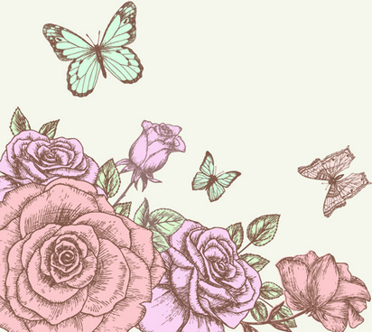 Drawn elower 990 free design download flowers