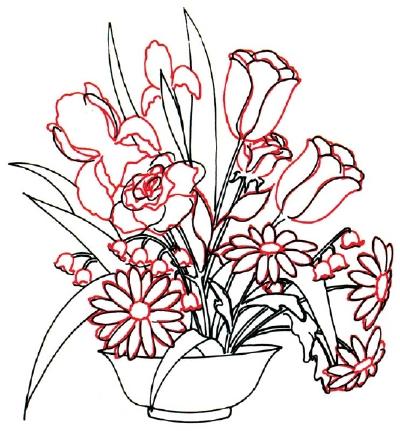 Drawn rose bush rose petal HowStuffWorks to 4 Arrangement a