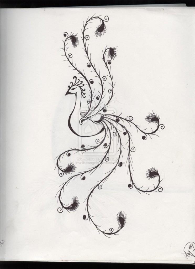 Drawn vine artistic #10
