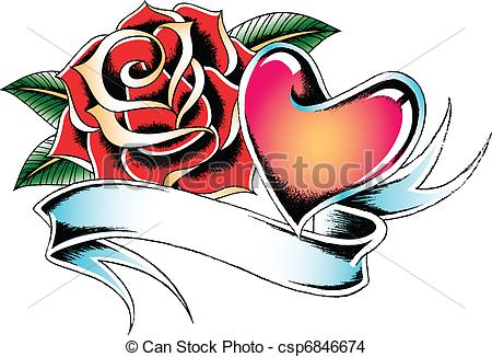 Drawn ribbon bow tie Vector Search Clip Vector flower