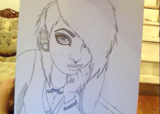 Drawn emo Emo drawings drawing bloodybeautifullove drawings