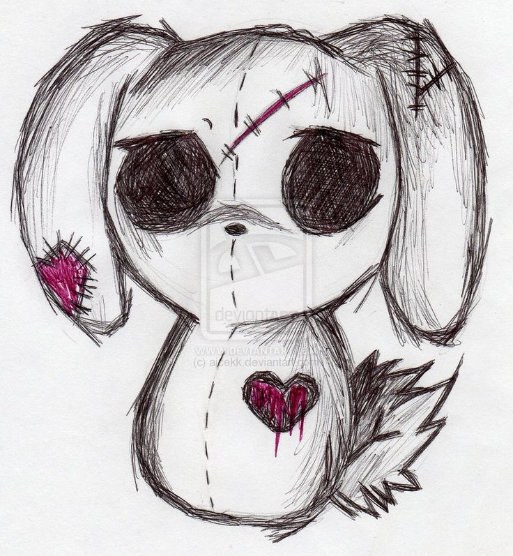 Drawn emo Animals drawings 2012 Best photos