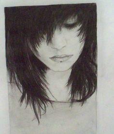 Drawn emo Art traditional Art people emo