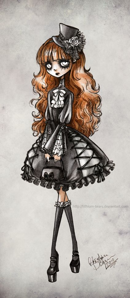 Drawn piano gothic Misunderstood more and cute this