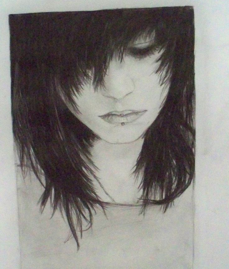 Drawn sad dark Draw and drawing Sad 2011