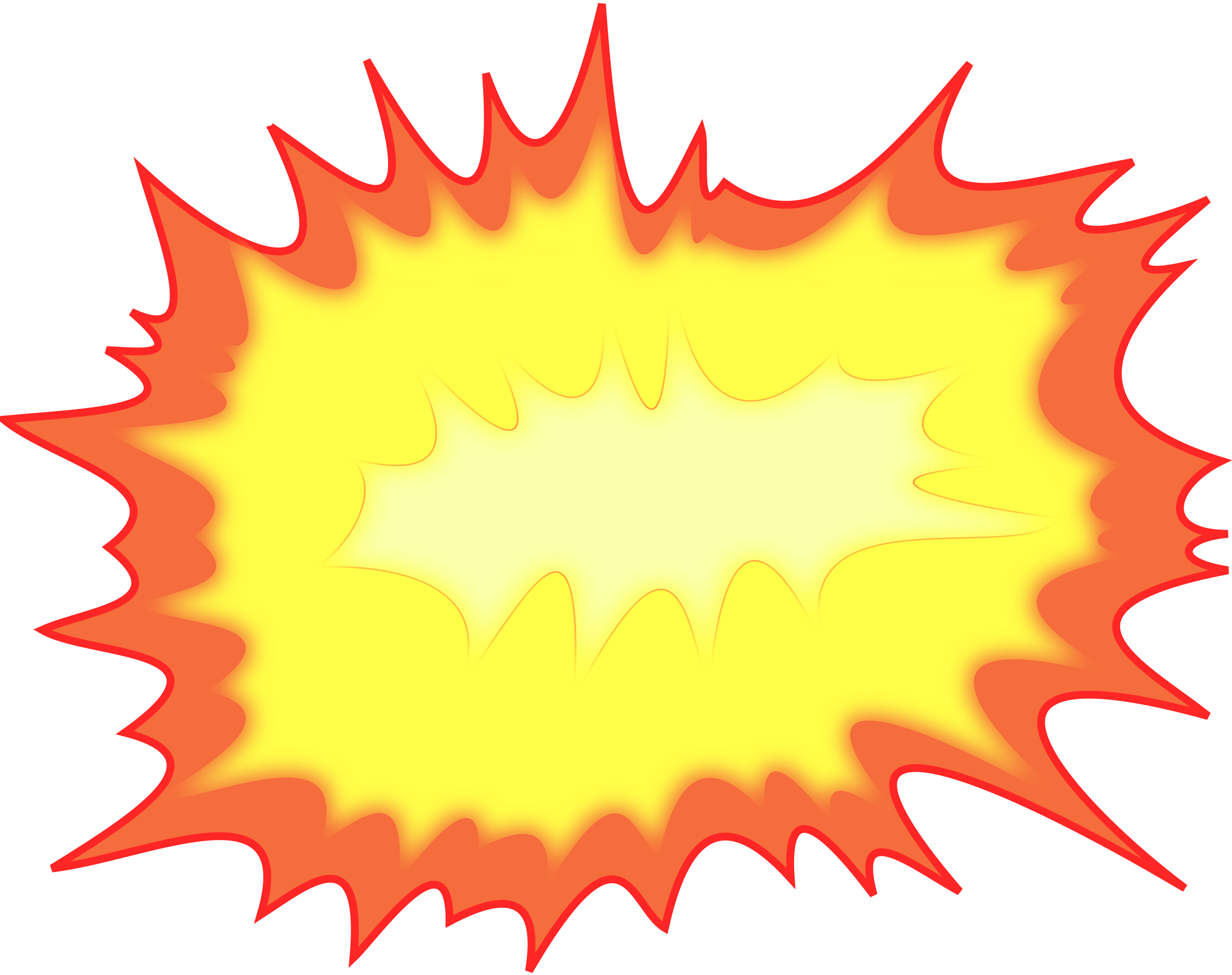 Drawn explosion Clipart Explosion Explosion